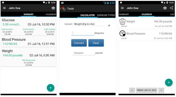 Diabetes Journal app