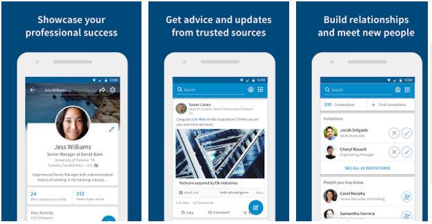 LinkedIN job search app download