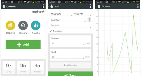 OnTrack - best diabetes management app