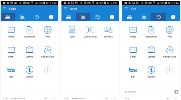 Samsung Mobile best Print app for Android and iOS