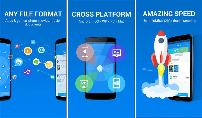 Top 4 Best File Transfer app for Android
