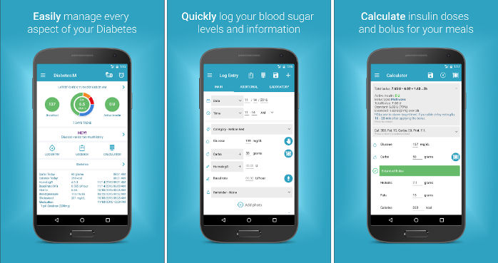 DM - best diabetes apps for Android or iOS