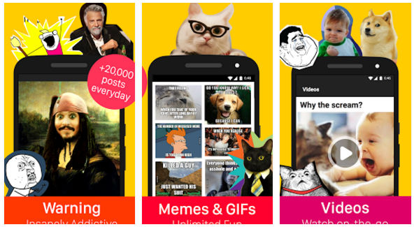 9Gags - best fun apps for Android