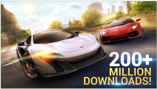 Asphalt 8 airborne - best car games 2017