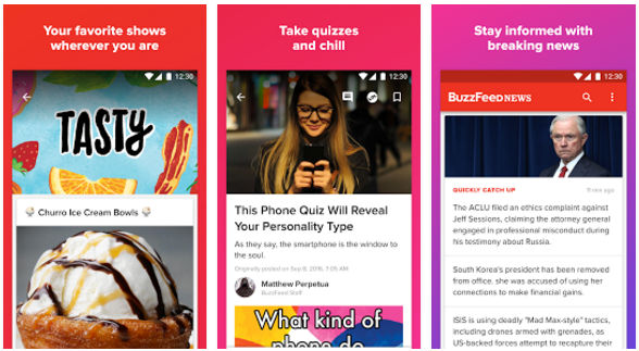 BuzzFeed - best fun app for Android