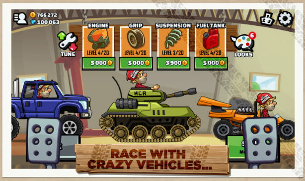 Hill Climb Racing 2 - best car games for android