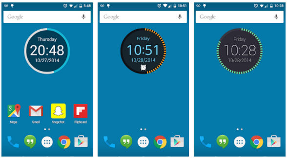 date and time widget apk