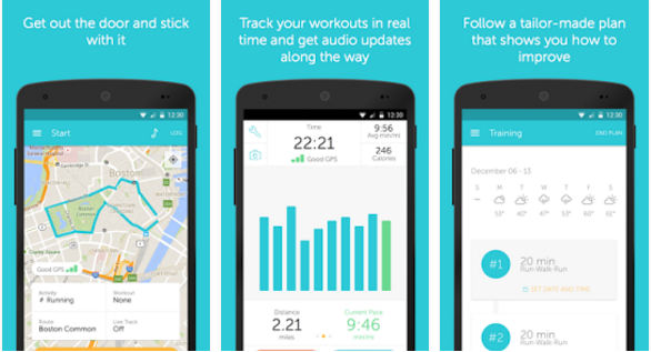 Runkeeper - best android running app
