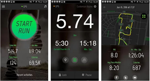 Running Distance Tracker plus - best running app for iPhone