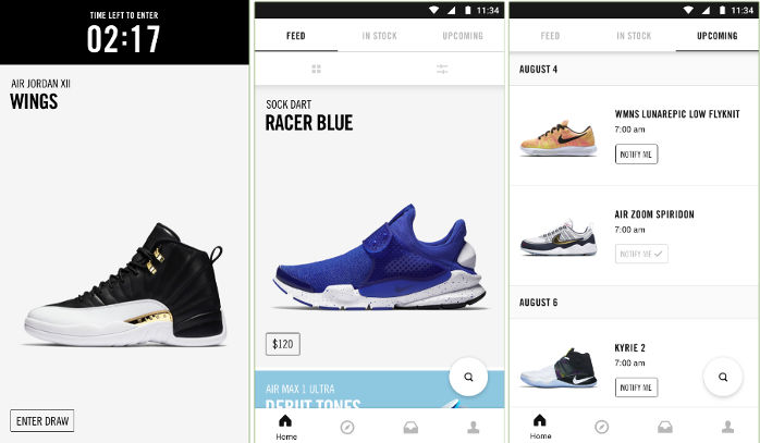 Want to buy the latest Nike Sneakers? Download the SKNRS app right now.  SKRS provides a great shopping experience to the users by giving them  access to a ...