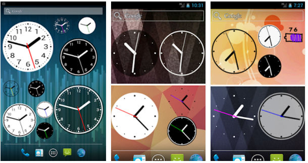 Simple Analog Clock widget app