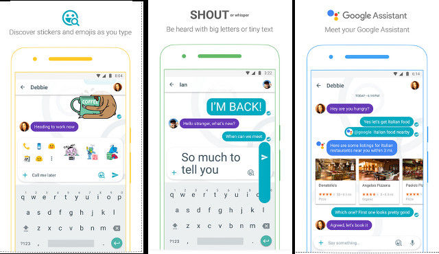 Google Allo - best apps like WhatsApp
