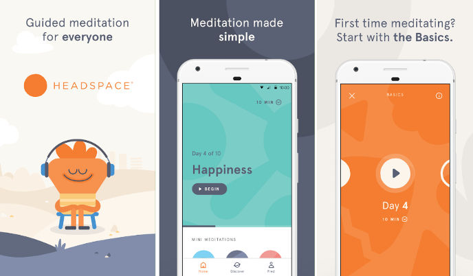 Headspace - best meditation apps