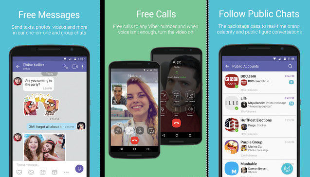 Viber - best apps like WhatsApp