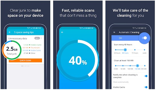 AVG Cleaner app for Android