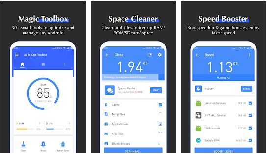 All In One Toolbox - best cleaner apps for android