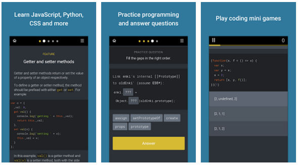 Enki - apps to learn programming