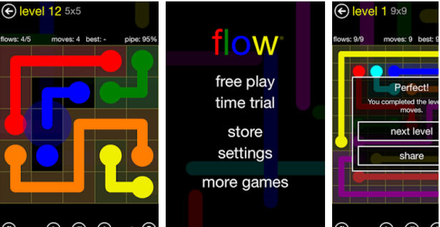 Flow game - best android puzzle game