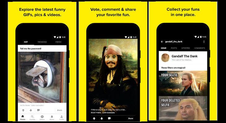 9Gag - best app like reddit