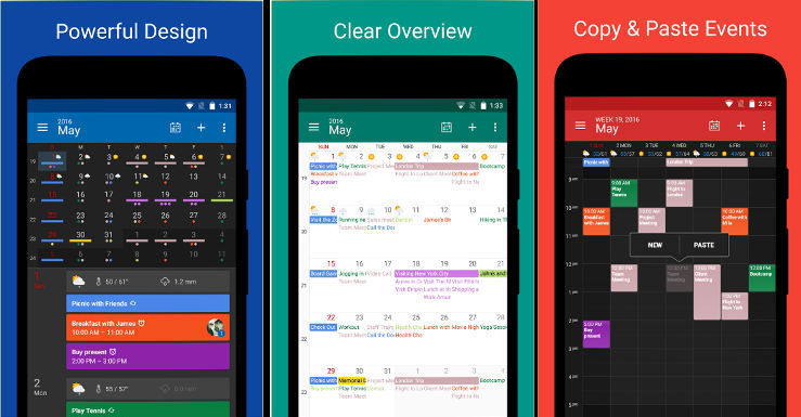 DigiCal - best Android calendar apps