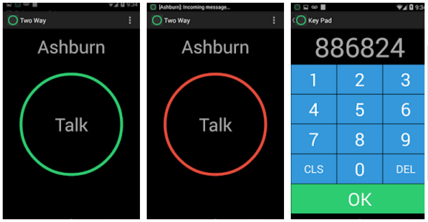 Two Way - best walkie talkie apps for Android and IOS