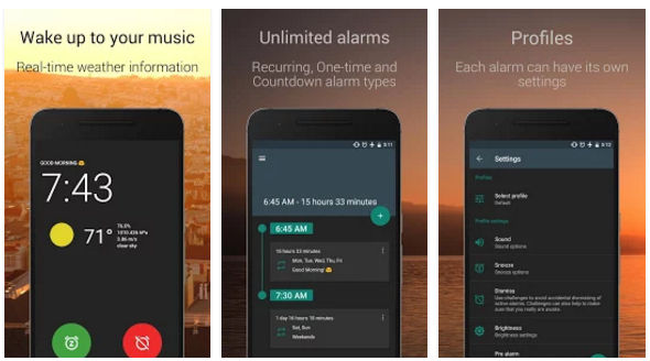 Top 5 Best Android Alarm Clock App