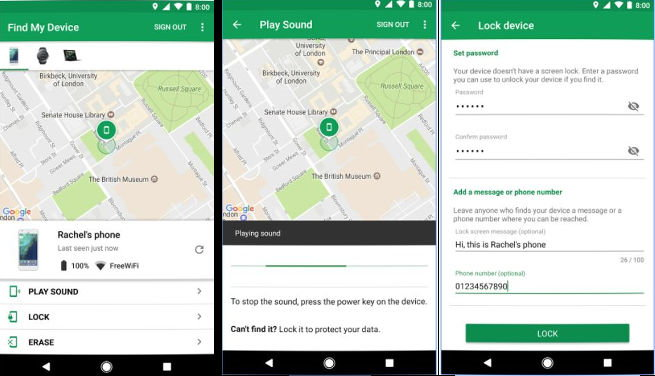 Find My Device - Best Android security apps