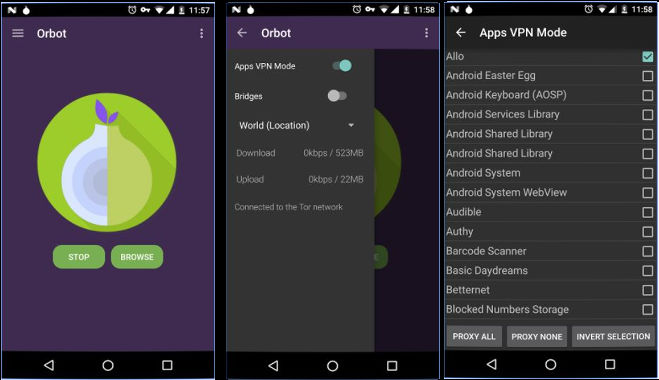 Orbot - best security apps for Android
