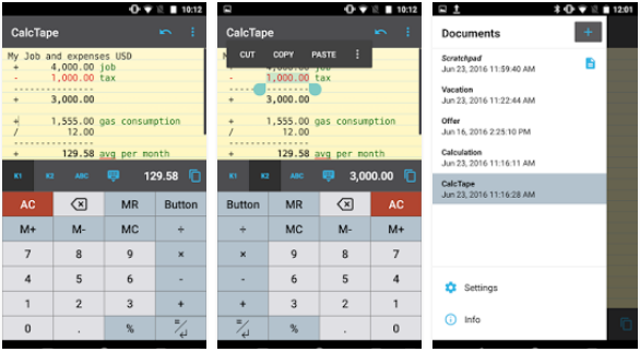 CalcTape - best calculator apps
