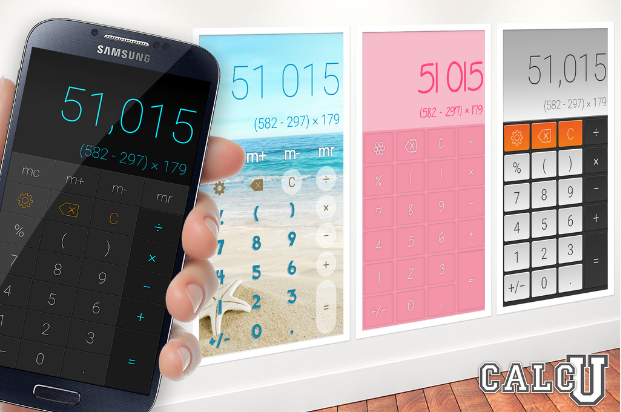 CalcU - best calculator apps for Android and IOS