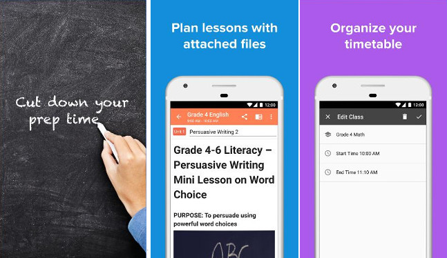 Planboard - apps for teachers