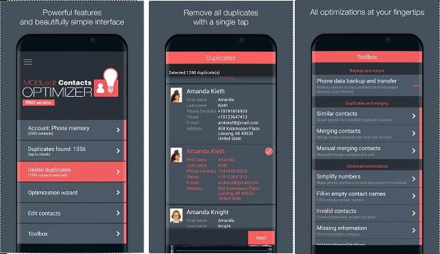 Top 5 Best Android contacts app