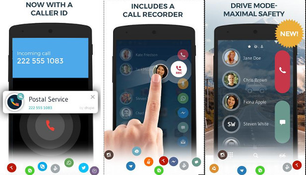 Drupe - Best Android contact apps