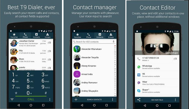 True Phone - Best Android contacts app