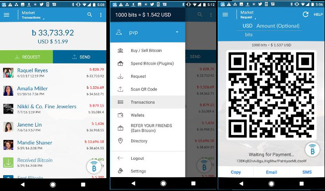 AirBitz -  best bitcoin apps