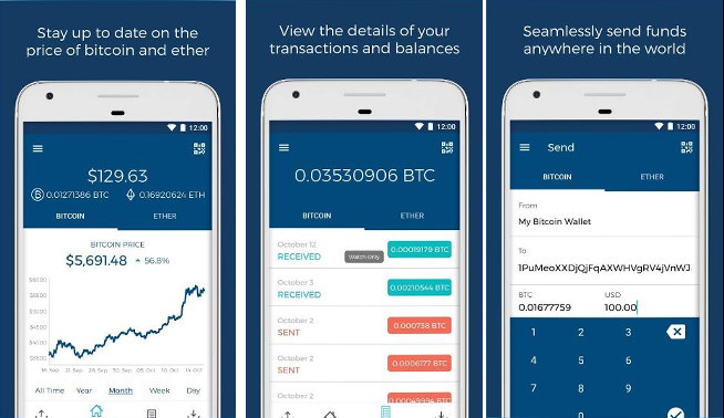 BlockChain - best bitcoin apps for Android and iPhone