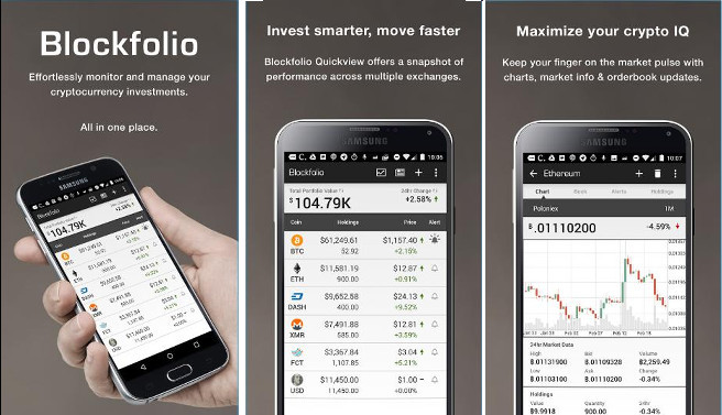 cryptocurrency price alert app iphone