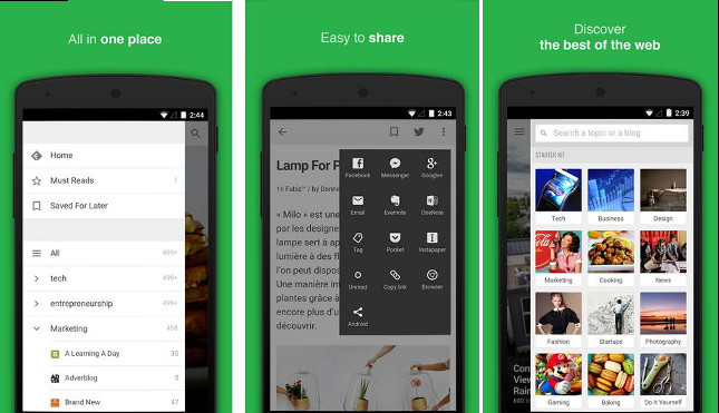 Image result for Feedly app
