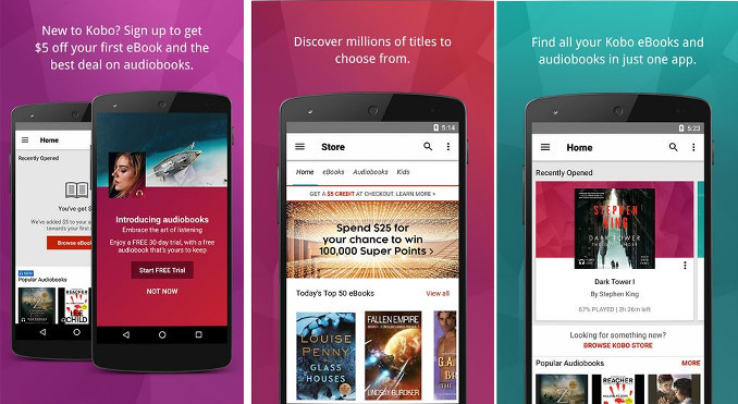 Kobo - best bookstore apps