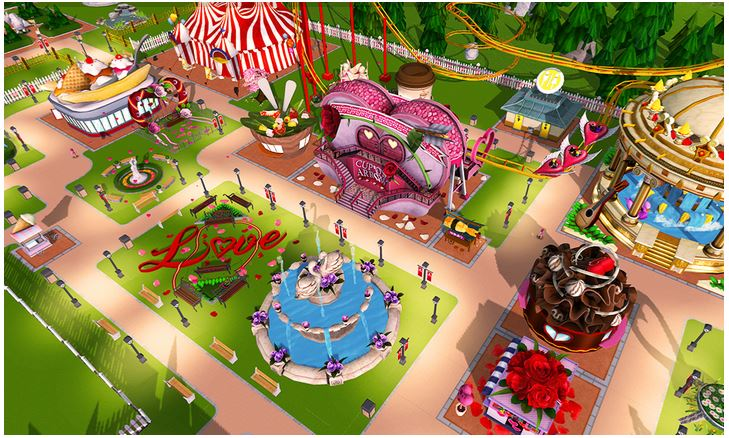 Roller Coaster Tycoon - best business simulation games