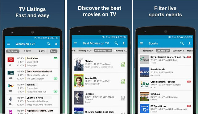 TV24 - best TV guide apps