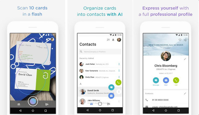 Best business card scanner apps for android and ios although its not as popular as eight and camcard wantedly is a great business card scanner app the app allows you to scan business cards without logging colourmoves