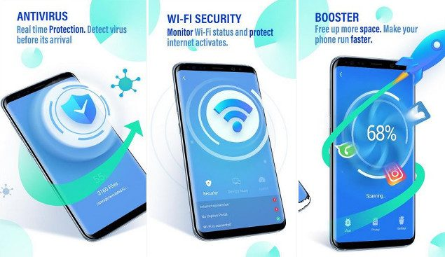 Go Security Review Free Antivirus Applock And Junk Cleaner App
