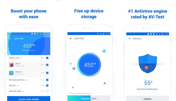 CM Lite review: Junk cleaner and antivirus app for low end