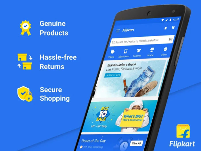 Flipkart - best online shopping apps