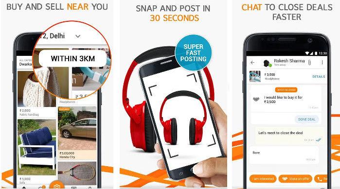 Olx shopping app