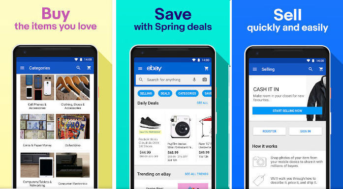 eBay - best online shopping apps