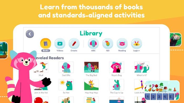 KA kids library app