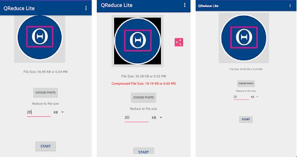 QReduce Lite - Best apps to resize images