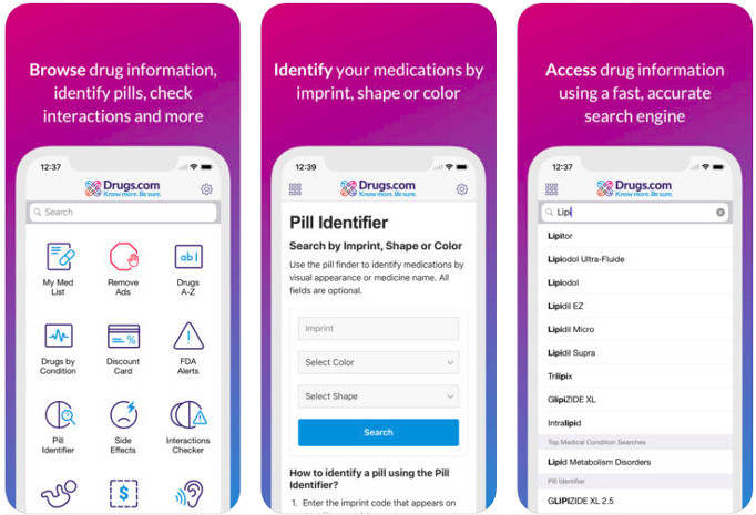 Drugs - best medical apps for doctors and patients